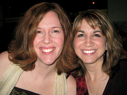 Theresa and me a couple years ago. We're still friends.