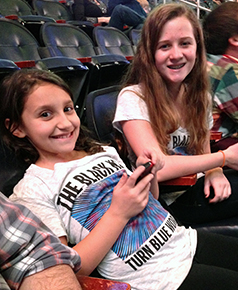 Antonia and Emma at The Black Keys!