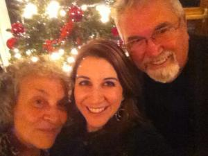 Mom, Dad and me selfie from a couple years ago.